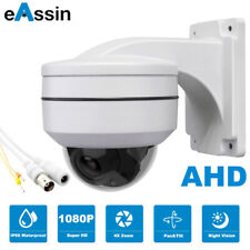 2.5 inch Security 4 in 1 Mini Ahd 1080P Ir Dome Ptz Camera 4X Zoom 2.8-12mm Lens