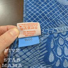 DIDYMOS Baby Wrap Sling Mela Blue Pfau, size 4