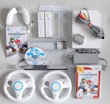 Nintendo Wii Konsole Mario Kart Pack Weiß - 2 Spieler Set - original Nintendo