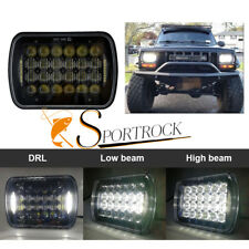 6X7'' 5D 72W LED Headlight Light Lamp Bulb Hi/Low Beam Headlamp DRL Truck SUV
