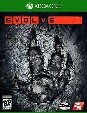 Evolve w/sleeve cover (Microsoft Xbox One) 2015 Turtle Rock Studios 2K