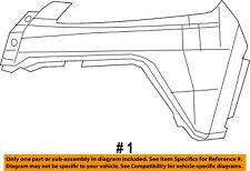 Jeep CHRYSLER OEM 14-17 Cherokee-Bumper Cover-Upper Right 5LT10TZZAE