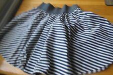 girls' stripey skirt by Red Herring, navy and white