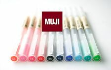 NEW COLOR   MUJI  Gel Ink Pen 0.5 mm 10 colors  MOMA Anime Manga FREE AIR