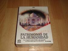 PATRIMONIO DE LA HUMANIDAD SERIE DOCUMENTAL CON 7 DISCOS DVD NUEVO PRECINTADO