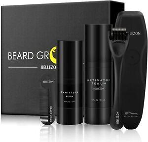 BEARD GROWTH KIT ✔ Beard Grooming Set Tools ✔ Growth ✔ PERFECT GIFT FOR MEN, DAD