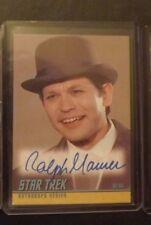 Star Trek TOS  Autograph Card Auto A187  2008 Ralph Maurer as Bilar