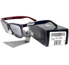 Oakley OO 2043-05 FROGSKINS LX Navy Chrome Iridium Mens Collectors Sunglasses .