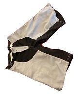 Black & Grey Cannondale Racing MTB Down Hill Shorts Old School 32 waist