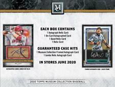 2020 Topps Museum Baseball Hobby Box (Presell)