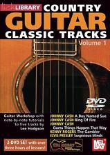 Country Guitar Classic Tracks Volume 1, 2 Dvd'S [Dvd] (2010) Lee Hodgson, Mb-Rdr