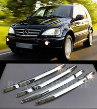USA STOCK ROYAL CHROME Door Handle Trims for Mercedes C E M ML W202 W210 W163