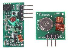 Transmisor Inalámbrico 315MHz & módulos receptor Chip 20-200m rango: 201 a