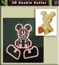 3D Character Cookie Fondant Cake Sugarcraft Chocolate Decorating Plunger Cutter