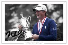Webb Simpson US Open Golf win 2012 signé imprimé photo