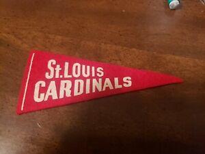 1950s St Louis Cardinals mini pennant nice!