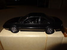 1989 89 Chevy Beretta GT promo model car black metallic #6058 promotional w/box.