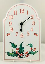 Villeroy & Boch - Christmas HOLLY - Clock - excellent