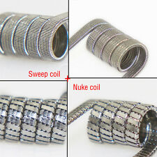alien vape clapton wire coil Sweep coil+Nuke coil Group selling rda vape coils