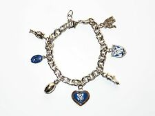 33969 CANTERBURY BULLDOGS NRL TEAM CHARM BRACELET CHARMS CHAIN JEWELLERY