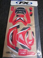 Honda Leatt Factory FX heavy duty graphic decal set GR1080