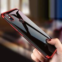 For Xiaomi Mi 9 Lite 9T 9 SE A3 A2 Plating Bumper Silicone Clear TPU Case Cover
