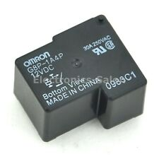 2x OMRON G8P-1A4P 12VDC Power Relay, 30A 250VAC SPST-NO, 12V Coil.