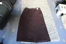 NEXT LADIES SIZE 18 BROWN/BURGUNDY SKIRT BNWT RRP £45.00