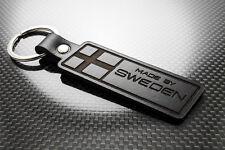 Volvo SWEDEN Leather Keyring Keychain Schlüsselring Porte-clés V60 V40 V50 C70