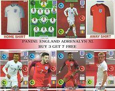 Panini EURO 2016 Adrenalyn XL ENGLAND cards - BUY 3 GET 7 FREE!