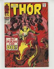 The Mighty Thor #153/Silver Age Marvel Comic Book/VF-