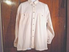 "men's shirt Ben Sherman winter white XL 16 1/2""  collar breast pockets cotton"