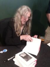 PATTI SMITH SIGNED WHY I WRITE DEVOTION BOOK +EVENT + PHOTO NYC 9/19 AWESOME