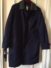Manteau Imperméable A.P.C Raincoat APC Navy Waterproof