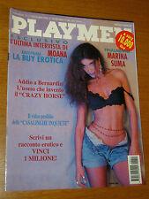 PLAYMEN 1994/11=MARINA SUMA=SIMONA PIERI=ALAIN BERNARDIN=BMW CSI=MOANA POZZI=