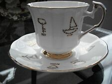 Vintage English Bone China, Red Rose Tea ''Cup of Fortune''