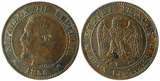 NAPOLEON  III  ,  2  CENTIMES  1856  K  BORDEAUX