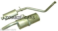 PEUGEOT 306 2.0HDI 99-02 EXHAUST CENTRE & REAR BACK BOX SILENCER ESTATE
