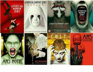 American Horror Story Season 1-8 DVD Box Set Complete Series Collection New