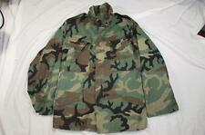 Vtg 90s 1991 US Army Camouflage M-65 Field Jacket Coat Cold Weather Small-Reg