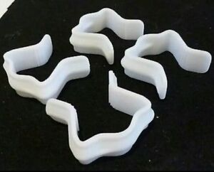New Pack of  4  replacement Divan Base U Clips for Divan Bed 4ft double king 6ft