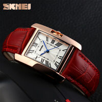 Women's Quartz Watch Ladies Luxury Fashion Casual Wristwatch Leather Strap 226B