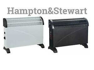 Powatron 2000w Convector Heater With Turbo Boost Portable Electric +Thermostat