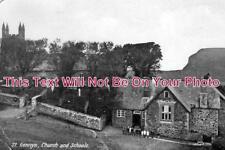 CO 618 - St Gennys Church & Schools, Cornwall - 6x4 Photo