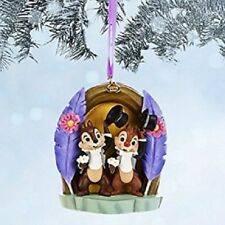 "DISNEY CHIP 'N DALE SKETCHBOOK CHRISTMAS / HOLIDAYS HANGING ORNAMENT"" NWT"
