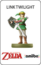 Carte Amiibo NFC LINK TWILIGHT (Zelda, super smash bros)