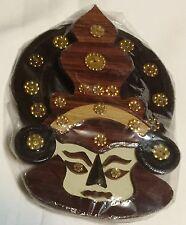 INDIA  WOOD  MASK TRIBAL ART