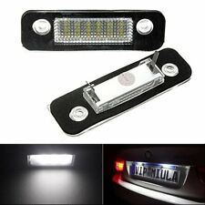 2pcs LED Rear Number License Plate Light For Ford Mustang Focus Fusion Taurus