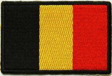 Belgium Flag Patch, International Flag Patches, Flag patches, biker patches,