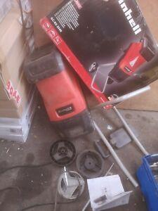 Einhell GC-KS 2540 Electric garden Shredder - Black/Red Read description